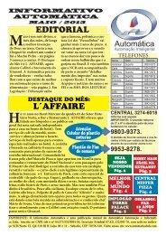 Maio - Portal Automática Automação e Informática Ltda