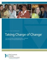 Read the executive summary - McCormick Center for Early ...