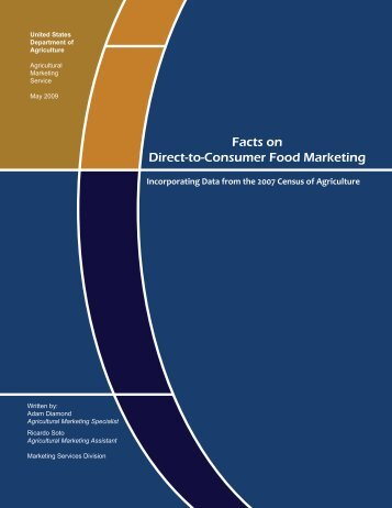 Facts on Direct to Consumer Food Marketing FINAL 05 ... - Greenhorns