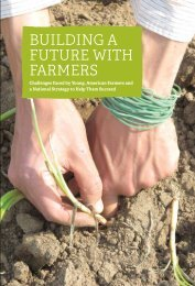 BUILDING A FUTURE WITH FARMERS: Challenges Faced by