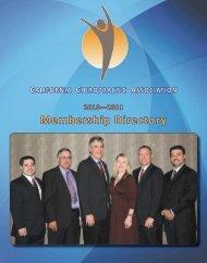 Membership Directory - CCA Journal magazine