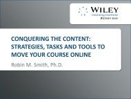 CONQUERING THE CONTENT: STRATEGIES, TASKS AND TOOLS ...