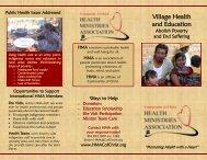 International - Health Ministries Association
