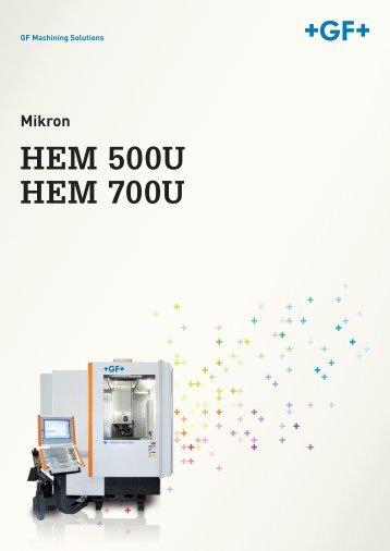 Mikron hpm 600u hpm 800u de for Hem satteldorf prospekt