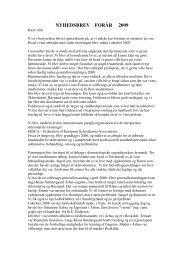 nyhedsbrev forår 2009 - Dansk Sklerodermi & Raynaud Forening