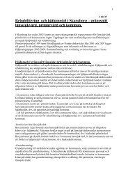Rehabilitering och hjälpmedel i Skaraborg – gränssnitt länssjukvård ...