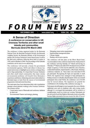 Issue 22 - UKOTCF