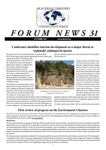 Issue 31 - UKOTCF