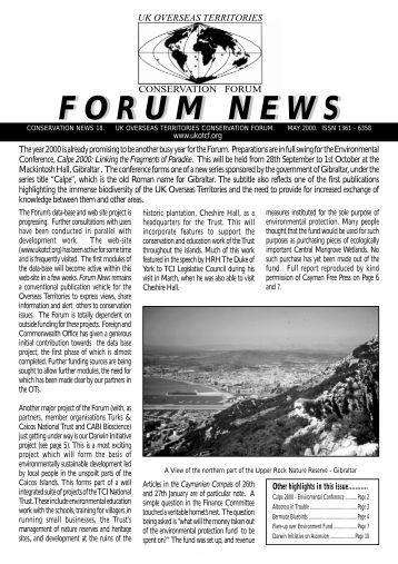 Issue 18 - UKOTCF