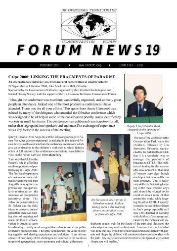 Issue 19 - UKOTCF