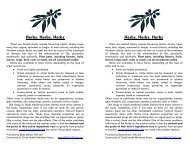 Herbs, Herbs, Herbs Herbs, Herbs, Herbs - Health Ministries ...