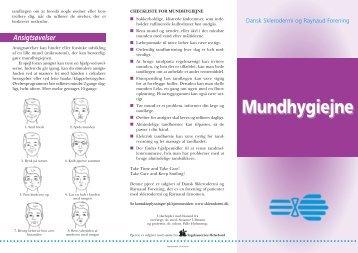 Mundhygiejne - Dansk Sklerodermi & Raynaud Forening