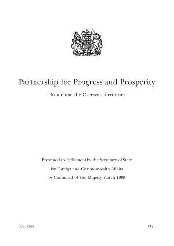 Partnership for Progress and Prosperity - UKOTCF