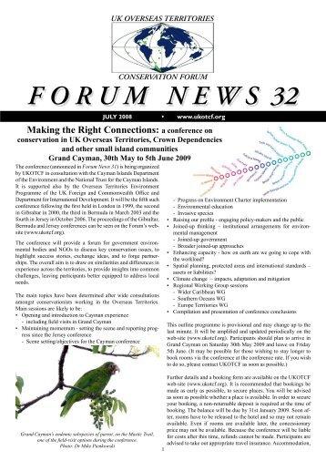 Issue 32 - UKOTCF
