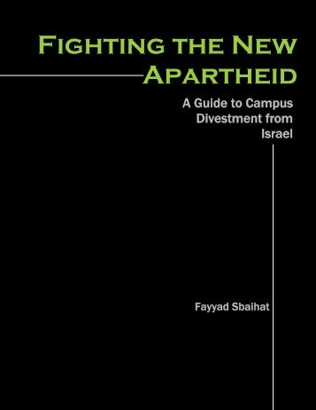 Fighting the New Apartheid - Palestine Solidarity Legal Support