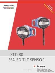 STT280 sealed tilt sensor
