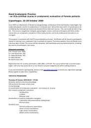 an ICS-certified course in urodynamic evaluation of ... - DUGS.dk.