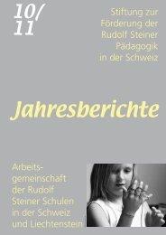 Stiftung zur Förderung der Rudolf Steiner Pädagogik in ... - Schulkreis