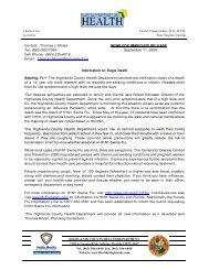 Contact: Thomas J. Moran NEWS FOR IMMEDIATE RELEASE Tel ...
