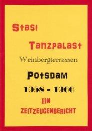 Stasi Tanzpalast Weinbergterrassen Potsdam, 1958-1960