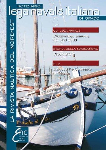 2009 numero 1 - LEGA NAVALE ITALIANA sezione di GRADO