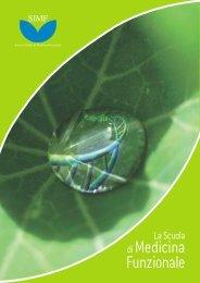 Click per scaricare brochure - Società Italiana Medicina Funzionale