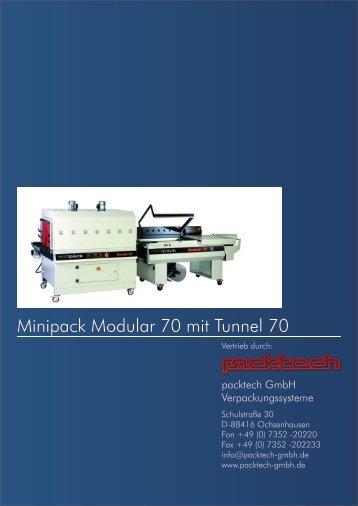 Minipack Modular 70 mit Tunnel 70 - Packtech-GmbH