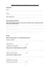 Fragebogen Produkt- Haftpflichtversicherung - Bosna RE