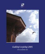 Godi{nji izvje{taj 2005. - Bosna RE