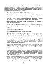 pravila neproporcionalnih ponuda - Bosna RE