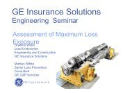 Assessment of Maximum Loss Exposure - Bosna RE