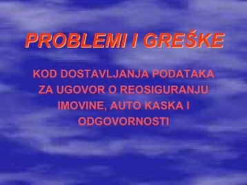 2003 Problemi i greske kod dost podataka-bos.pdf - Bosna RE