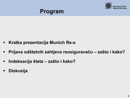 Klauzule prijava odstetnih zahtjeva - Bosna RE