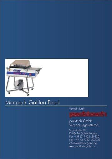 Minipack Galileo Food - Packtech-GmbH