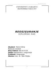 REOSIGURANJE - Bosna RE