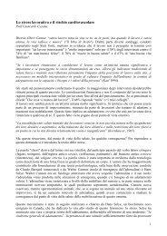 6- Stress Lavorativo.pdf - Milano Bicocca - Medicina del Lavoro