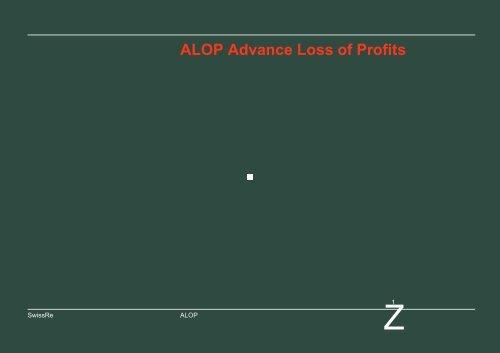 ALOP Advance Loss of Profit - Bosna RE