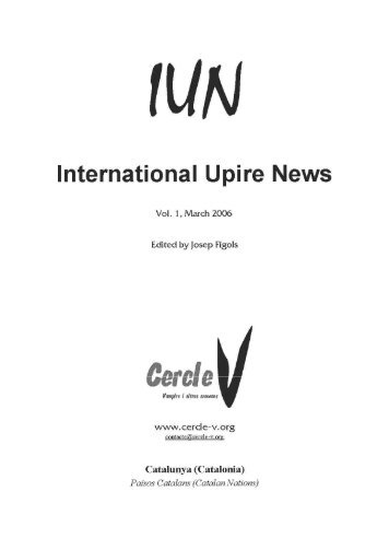 Issue 3. March - Cercle V