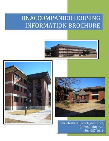 Unaccompanied Housing Brochure - Air Force Housing