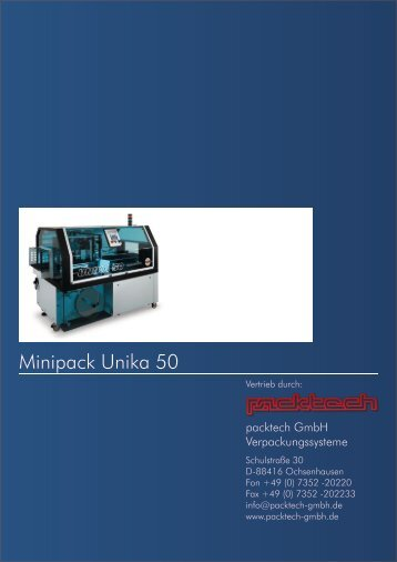 unika50 productivity - Packtech-GmbH