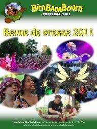 Revue de presse 2011 - BIMBADABOUM