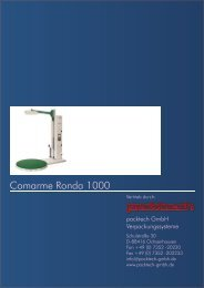 Halbautomatische Palettenwickelmaschine - Packtech-GmbH