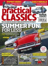 Practical Classics Magazine, June issue