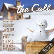 The Call - Blue Ridge Mountain Club