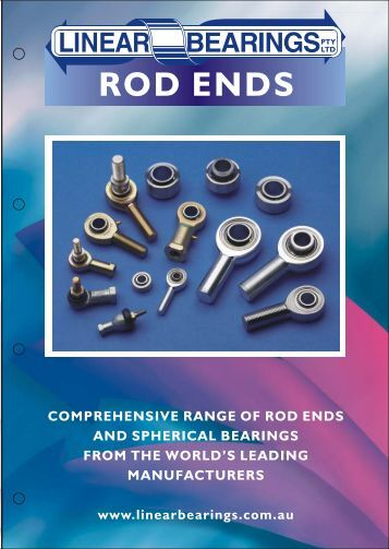 Download rod end catalogue - Linear Bearings