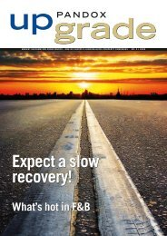 Expect a slow recovery! - Pandox