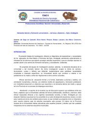 carreras a distanci - Editorial Cientifica - Universidad Nacional de ...