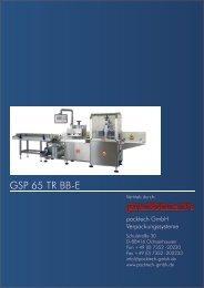 GSP 65 TR BB-E - Packtech-GmbH