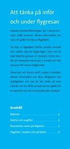 Att tänka på inför flygresan (PDF) - Getaway - Page 2