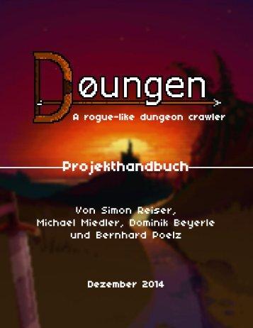 Doungen the Game - Projekthandbuch